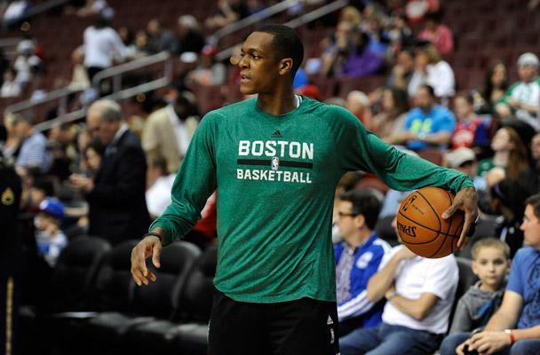 Rajon Rondo got acclimated with a lot new teammates this season. The Celtics captain could be passing to many more new faces next season.